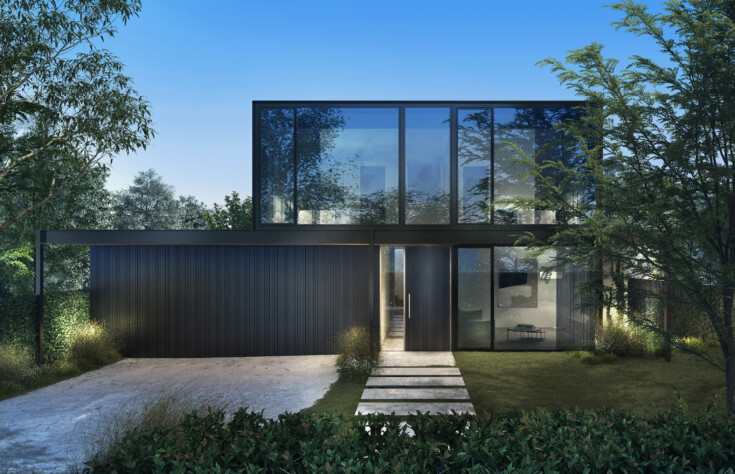 InForm - Black Rock Architect Designed Home